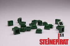 LEGO® 20x 3024 *NEU* Platte 1x1 / Platten / Steine / Basic / dunkelgrün 6055169