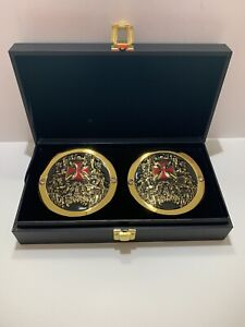 Official WWE Authentic Triple H Championship Replica Side Plate Box Set HHH