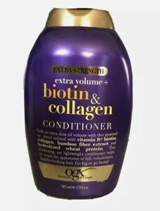 OGX Biotin & Collagen Extra Strength Conditioner 13fl oz each