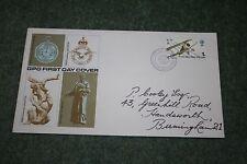 GPO First Day Cover 'British Anniversaries' 1s RAF Stamp - Hendon Postmark 1968