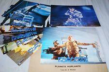 PLANETE HURLANTE  ! jeu 8 photos cinema lobby cards fantastique science fiction