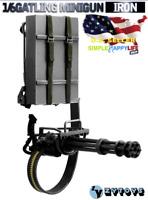 1/6 M134 Black Heavy Machine Gun Gatling 8018 / HOT TOYS TERMINATOR T-800 ❶USA❶