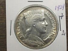 LATVIA OLD SILVER COIN 5 LATI 1929(7-2)