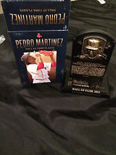 Pedro Martinez Hall of Fame Plaque Red Sox MLB