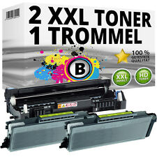 2x XL + TONER TAMBURO PER BROTHER MFC 8370dn 8380dn 8880dn 8885dn 8890dn hl5380dn