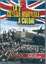 La 2° seconda guerra mondiale a colori vista dagli inglesi (2007) DVD NEW SEALED