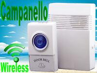 Campanello senza fili per porta,casa. Wireless,acustico,32 melodie,a batterie.
