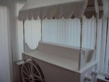 Hire Only Essex Large White Candy Cart Perfect For Wedding Function Party