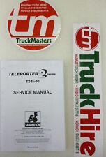 Sanderson Teleporter Forklift T2-11-40 Service Manual (PHOTOCOPY)