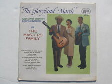 The Gloryland March The Masters Family STARDAY SLP 246 sealed new