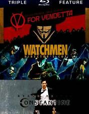 V for Vendetta / Watchmen / Constantine [Triple-Feature] [Blu-ray]