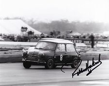 Paddy Hopkirk Hand Signed 10x8 Mini Photo 1964 International Trophy.