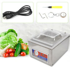 120W Vacuum Packaging Machine Sealer Kitchen Food Chamber Tabletop Seal 110V