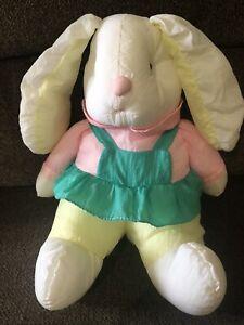 Puffalump Bunny Rabbit Easter Plush NylonMulticolor