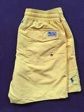 Polo Ralph Lauren Swim Shorts viajero tronco amarillo Tamaño S o M