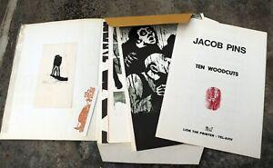 Jacob Pins Wood blocks
