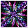 "Full Round Drill 5D Diy Diamond Painting ""Mandala "" 3D Embroidery Cross Stitc 3H"