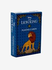 Official Disney The Lion King Classic Movie Playing Cards Free Shipping
