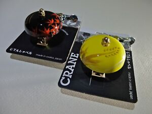 CRANE : Hand Painted Japanese Bicycle Bell : Choose from traditional designs