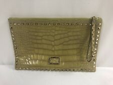 Valentino Garavani Rockstud Genuine Alligator Crocodile Strap Clutch $13,600.00