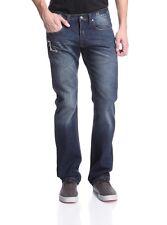 Jimmy Taverniti Selvedge Denim Men's Low Rise Slim Straight Jeans $198 NEW 34x34