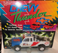 Lanard Off Road Chevy Thunder Truck Ripcord Or Pull Back Vintage!