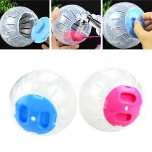 Hamster Running Ball Grounder Small Pet Gerbil Rat Activity Exercise Balls Cage