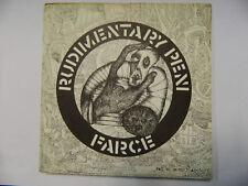 """Rudimentary Peni – Farce - 221984/2  - 7"""" Single Vinyl Punk"""