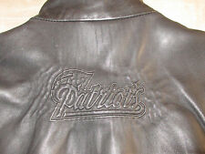 New England Patriots Womens Leather Jacket very Rare size-Small