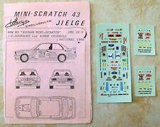 BMW M3 1° RALLYE RONDE CEVENOLE 1996 JEAN-FRANCOIS MOURGUES DECALS JIELGE 1/43