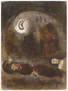 Marc Chagall original Bible lithograph 76788970