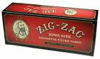 Zig Zag Red Full Flavor Cigarette Filter Tubes King Size KS 5 Pack 1000 Tubes