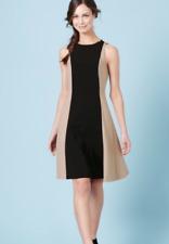 Ex Boden Audrey Shift Workwear Dress Sleeveless Shift Dress Size 10