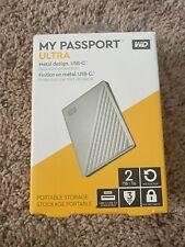 Western Digital My Passport ULTRA 2TB Portable External HDD - Silver