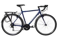 Indigo Regency Tour Mens Touring Road Bike 24 Speed 700c Midnight Blue