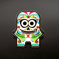 *BENEFITS CHARITY* Day of The Dead Peccy Pin