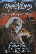 NIGHT VISONS 5 George R.R. Martin, Douglas Winter, Stephen King, 1st Ed