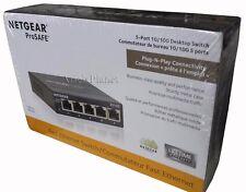 NETGEAR ProSAFE FS105 5-Port Fast Ethernet Switch (FS105) 5 Port