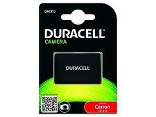 Duracell Premium DRCE12 Analog Canon LP-E12 Battery for EOS M M2 M10 and more..