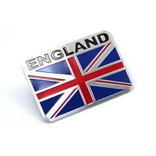 ENGLAND Racing Sport Motorsport Metal Emblems Emblem Badge Decals Sticker
