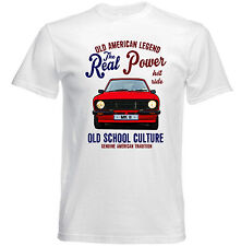 VINTAGE FORD MK II REAL POWER - NEW COTTON T-SHIRT
