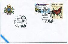 1995-04-30 San Marino 15° Gran premio di S.Marino ANNULLO SPECIALE Cover