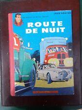 Jean Graton - Michel Vaillant - Route de nuit - EO française - 1962 - TTBE!