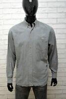 Camicia Uomo LACOSTE Camicetta Taglia XL Maglia Manica Lunga Shirt Man Hemd
