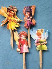 Cupcake Cake Toppers Tinkerbell 24pcs