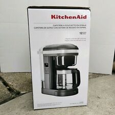 KitchenAid 12 Cup Drip Coffee Maker w/ Spiral Showerhead, KCM1208DG NEW