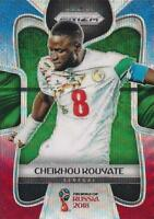 2018 Panini Prizm World Cup Russia '18 Senegal Red Blue Wave Parallel #275 -#283