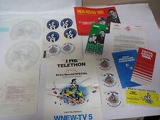 JERRY LEWIS 1983 MDA LAS VEGAS TELETHON PROMO INFORMATION PACK / MANY ITEMS !!!