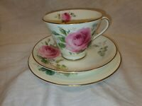 Vintage Royal Doulton June Trio Cup Saucer and Side Plate In Great Condition