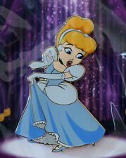 Disney Acme Hot Art Cinderella Dancing Princess Le 300 Jumbo Pin New On Card